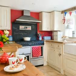 Black White And Red Kitchen Ideas White Red Amp Black Cottage A Cultivated Nest