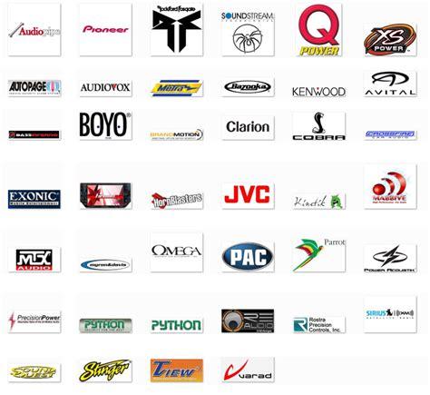 Handmade Car Brands - audio speaker brand logo www pixshark images