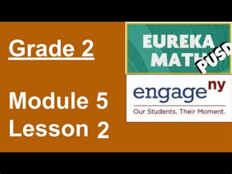 engagenyeureka math grade  module  lesson  youtube
