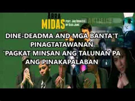 lyrics abra abra midas lyrics feat jaq dionisio