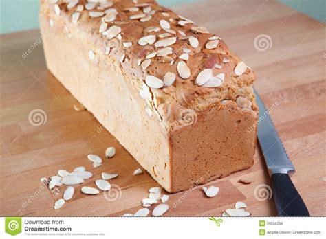 Amandel Brood brood gluten vrij amandelbrood stock foto afbeelding 28558296
