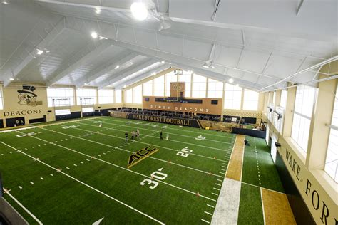 The Field House by Wfu Dedicates Mccreary Field House Forest News