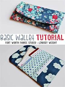 sew a basic wallet patternpile sew quilt
