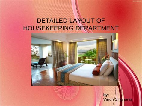 housekeeping layout hotel detailed layout of housekeeping department
