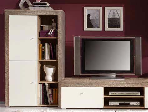 wohnzimmer wandschrank wohnwand lamount a 289x202x50cm eiche magnolie schrank
