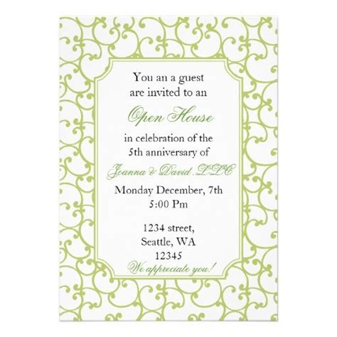 business open house invitation templates free corporate invitation more