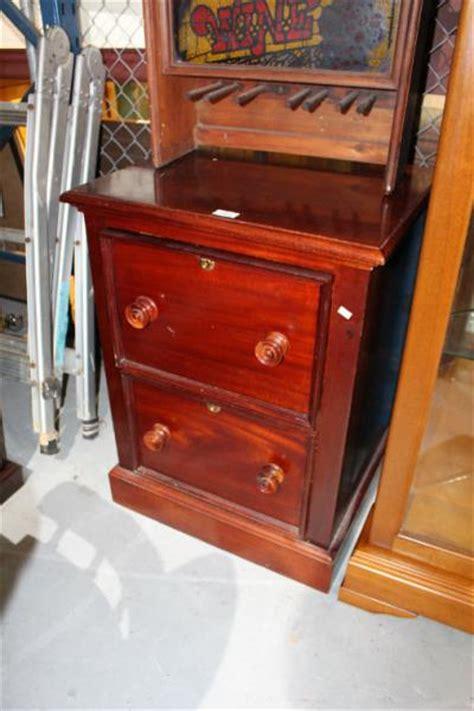 Vintage Style Filing Cabinet by Antique Style 2 Drawer Teak Filing Cabinet