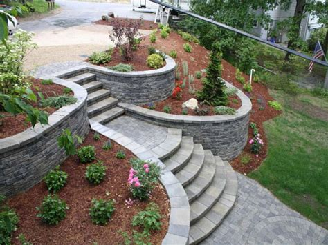 landscaping a sloped backyard 7 amazing sloped backyard landscape ideas chocoaddicts