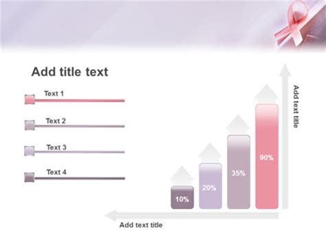 breast cancer awareness powerpoint template backgrounds