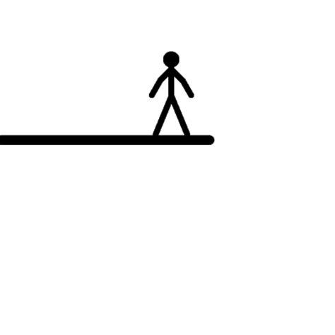 gambar gif lucu animasi bergerak stickman kartun