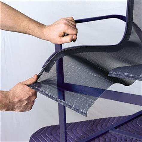 Patio Chair Repair Mesh Remove The Sling How To Repair Aluminum Patio Chairs This House