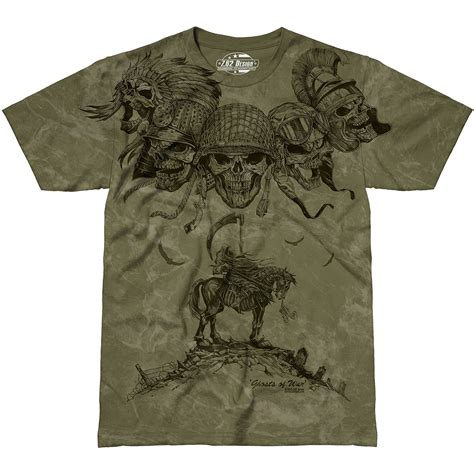 design a military shirt 7 62 design ghosts of war t shirt military green 7 62