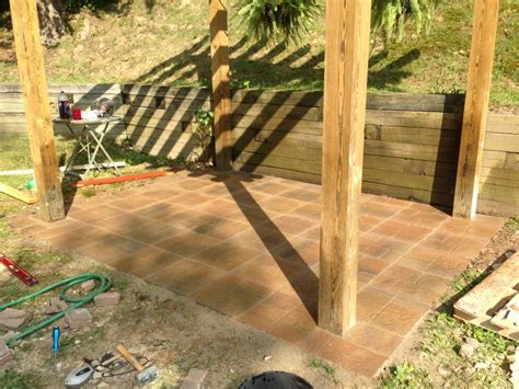how to build a paver patio coreyms