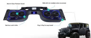 kis soundbar for jk s jeep wrangler forum
