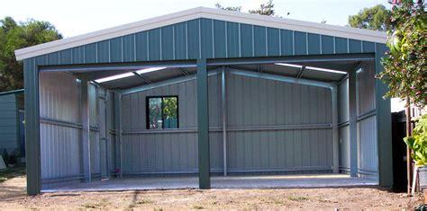 Sheds Garages by Garages Smartline Garages Fair Dinkum Sheds Sol Home