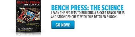 bench press book 5 big bench strategies excerpted from bench press the