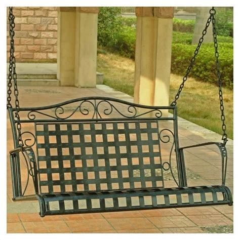 4 porch swing iron 4 ft porch swing 3451