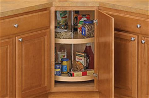 what to do with that corner cabinet in your kitchen