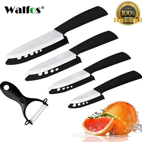 high quality kitchen knives reviews walfos high quality kitchen knife ceramic knife set 3 quot 4