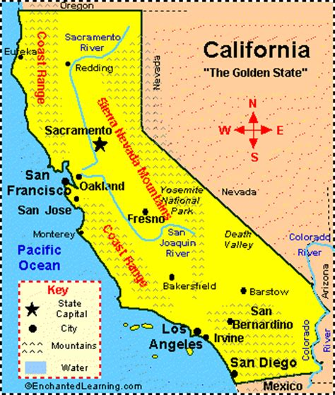 california geog 321: california physical features