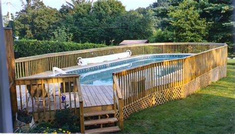 Landscape Timbers Around Pool Top 9 Yard Design Ideas Using Landscape Timbers