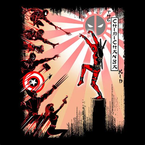T Shirt Chimicnanga the chimichanga kid t shirt