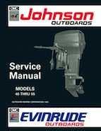 40hp 1992 J40telen Johnson Outboard Motor Service Manual