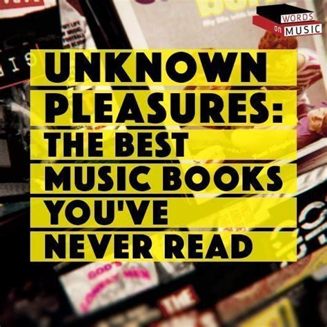 unknown music the best music books you ve never read