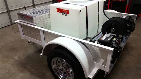 Handy Auto by Detrailers Mobile Auto Detail Car Wash Trailer Youtube