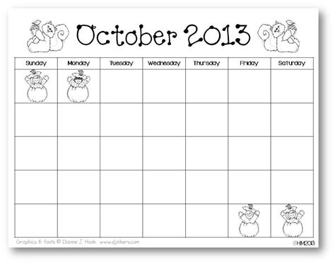 9 best images of kindergarten printable calendar month by