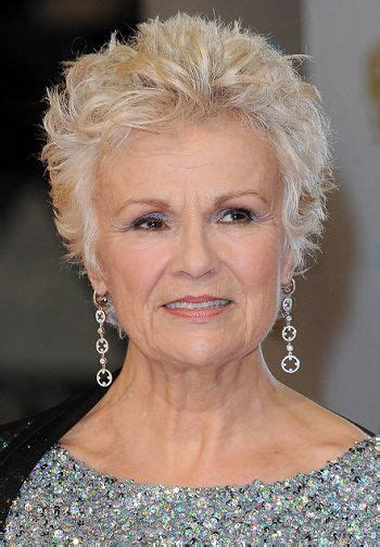 shag cuts for grey hair julie walters classy celebrity hairstyles for women with