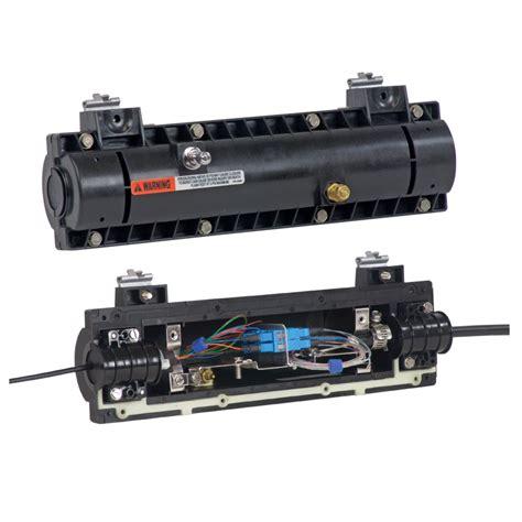 Aerial Closure 48 By Auto79 lightguard sealed fiber optic splice closures for fiber