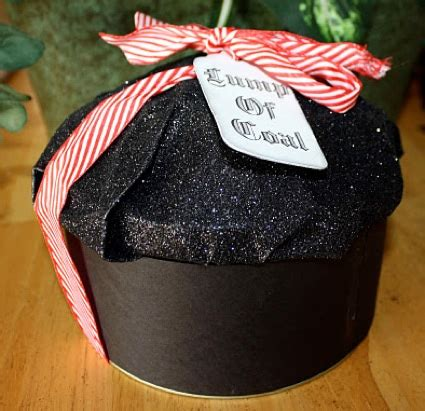 lump of coal christmas gift packaging homestead survival