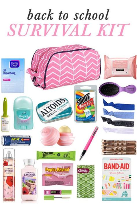 diy i want that products list diy back to school survival kit school school survival kits