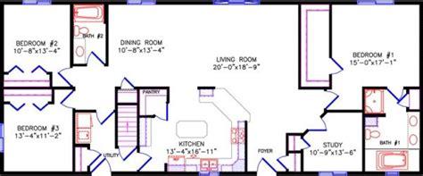 split floor plans
