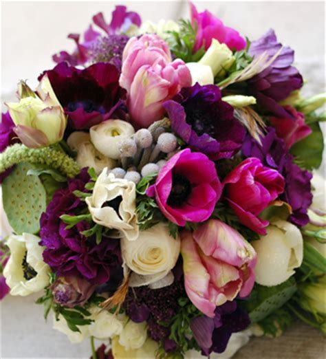 Lavender, Lilac, Plum, Eggplant Flowers & Decorations by Color