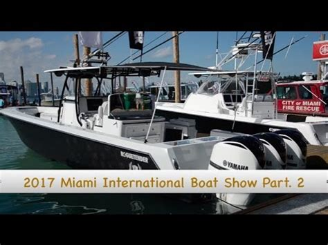 boston boat show 2017 2017 miami international boat show grady white cobia