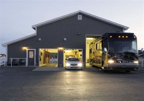 Quarter Garage Storage Rv Garage With Living Quarters Studio Design Gallery