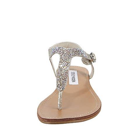 silver dressy flat sandals beaminng dusty silver s sandal flat steve