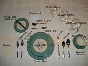 Formal Setting Of A Table Formal Table Settings For The Home
