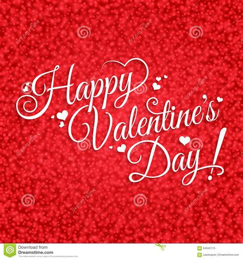 happy valentines day lettering happy s day lettering stock vector image