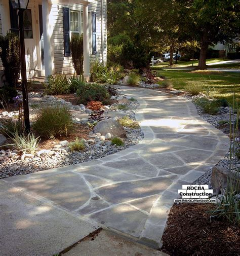walkways on pinterest sted concrete sted concrete walkway and flagstone walkway