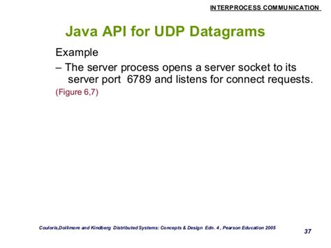 java pattern hostname interprocess communication