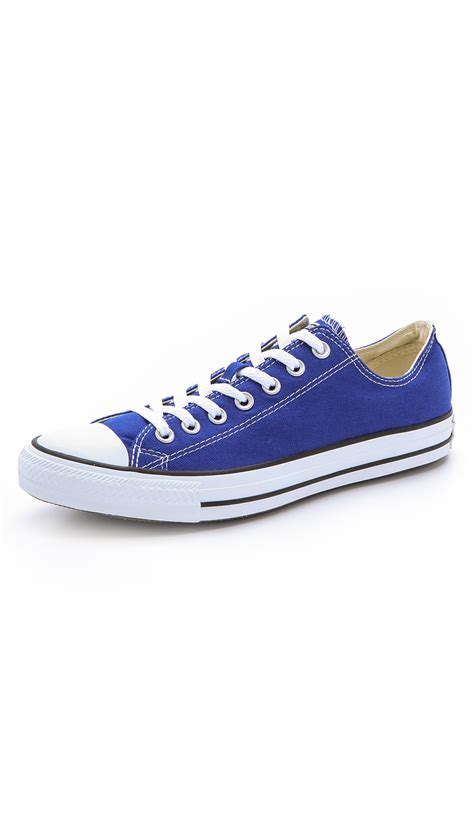 chuck sneakers for converse chuck all sneakers in blue for lyst