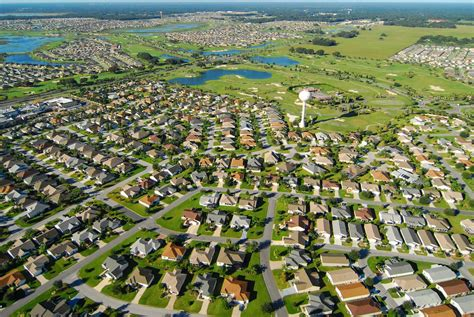 map of the villages florida the villages rental market on orlando rising