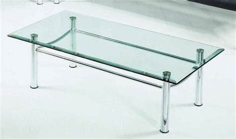 stainless steel and glass coffee table 1271937 product