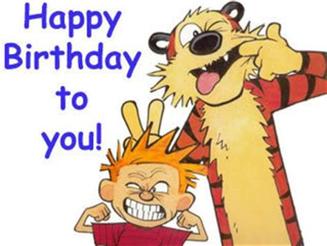 calvin and hobbes birthday quotes. quotesgram