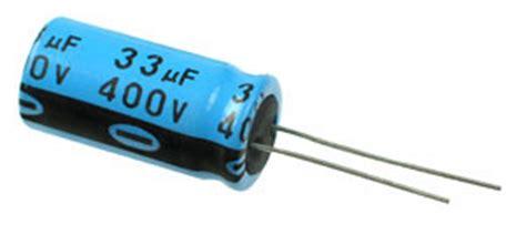 33uf 400v c033u400e 33uf 400v radial electrolytic capacitor