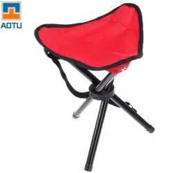 Folding Stool Chair Aotu Big Size Outdoor Camping Tripod Folding Stool Chair
