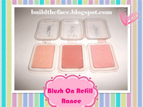 Harga Refil Sariayu build the 176 176 review blusher refill merk ranee